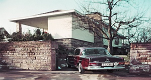 Mercedes Benz 220 SE Coupe