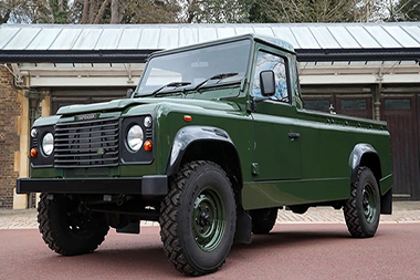 Land Rover Defender ,Funeral Prince Philip 2021