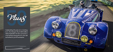 Morgan Plus8 - 50Th aniversario