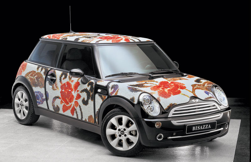 Art Car Mini y Bisazza se unen para vestir a 4 Minis