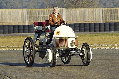 """Lohner-Porsche """"Semper Vivus"""" de 1900"""