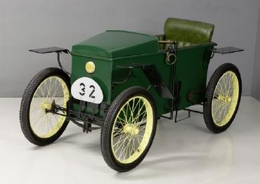 El revolucionario automóvil eléctrico Slaby Beringer de 1919, antepasado de Audi