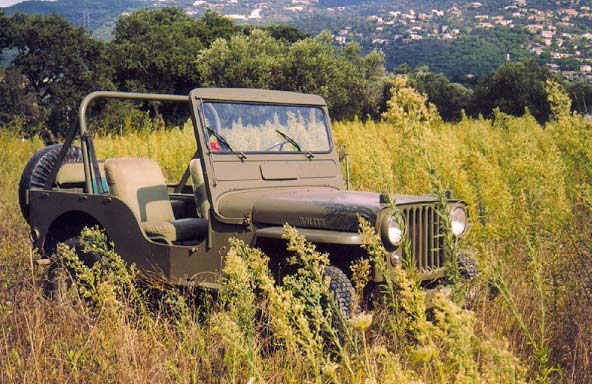Jeep Willys 4x4 Militar Clásico