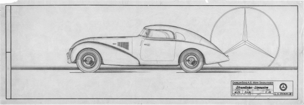 Mercedes Benz 540 K Streamliner 1938