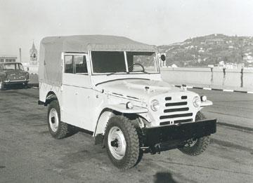 Fiat Campagnola Typ1101 de 1951