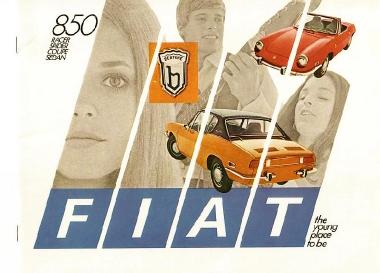 Fiat & Seat 850 Spider 1965