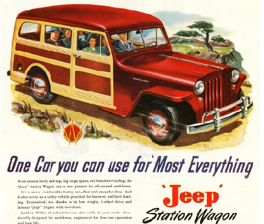 Jeep Station Wagon,Coches clásicos 4x4