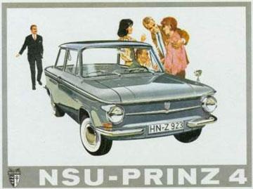 NSU Prinz 4 de 1963