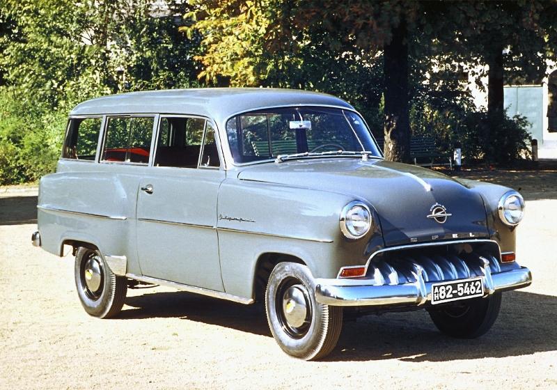 Opel Olympia Record 1953 1957