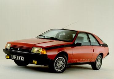 Renault Fuego de 1980