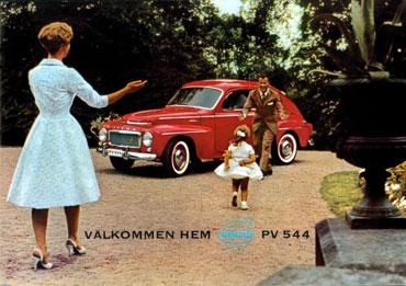 Volvo PV 544 de 1958
