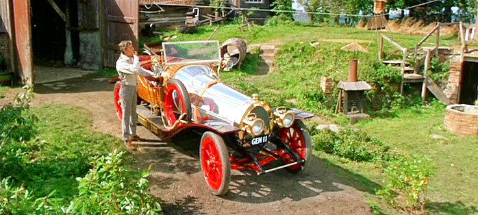 star cars: chitty chitty bang bang y caractacus potts
