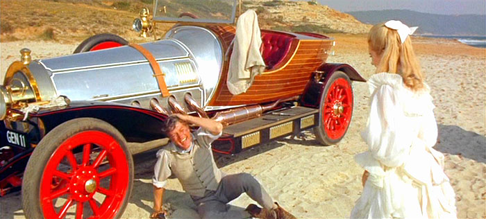 star cars: chitty chitty bang bang en la playa