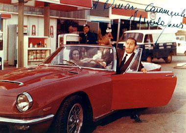 Maserati y el Cine