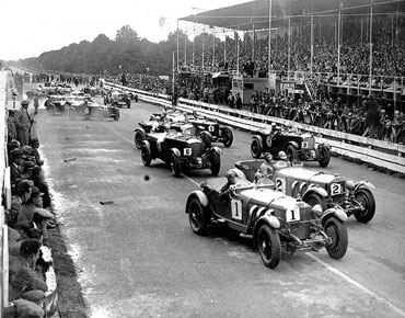 El circuito de Brooklands (UK)