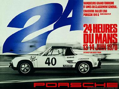 Victorias Porsche en las 24H de Le Mans 1970-1998