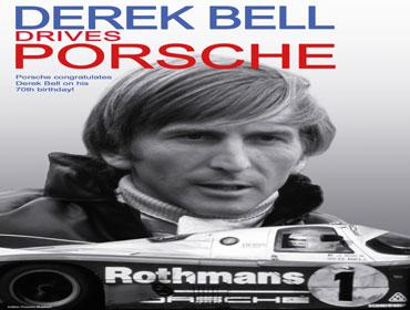 Porsche con Derek Bell en su 70 aniversario