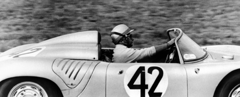 1950s Porsche Racing - Hans Hermann