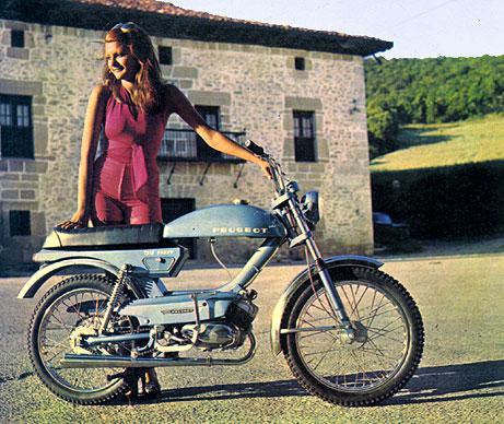 Ciclomotores Peugeot En Los 70