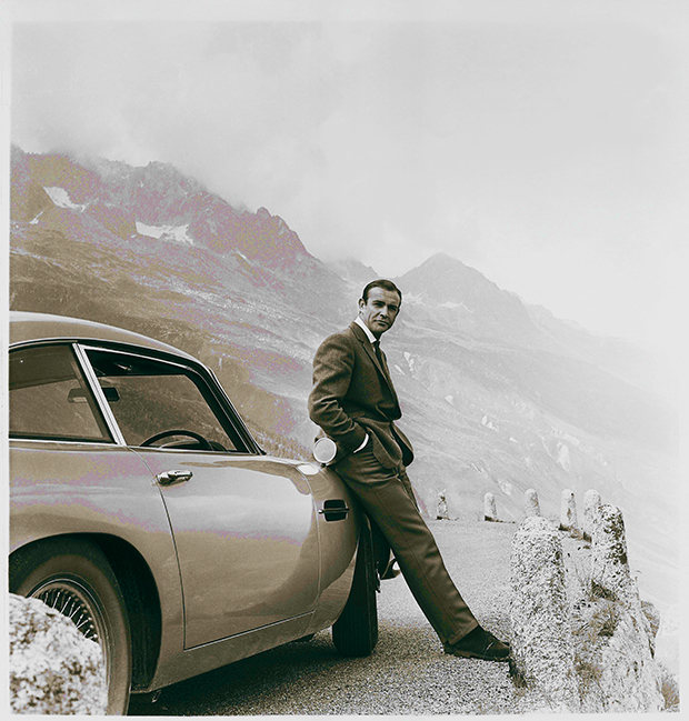 Aston Martin DB5 - James Bond