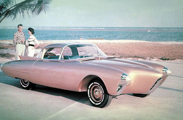 Golden Rocket Dream Car de 1956