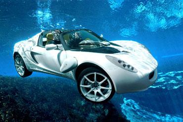 Rinspeed: El coche submarino