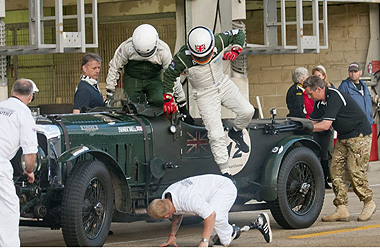 "Derek Bell y Bentley  ""Team Le Mans Classic"""