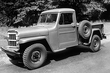 Jeep Pickup de 1954 4WD 1-Ton
