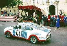 Skoda 1300 RS 1976 rally Monte Carlo